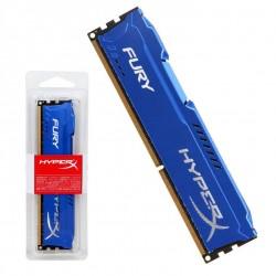 Memória RAM HyperX Fury 4GB (1x4GB) DDR3-1600MHz Azul online
