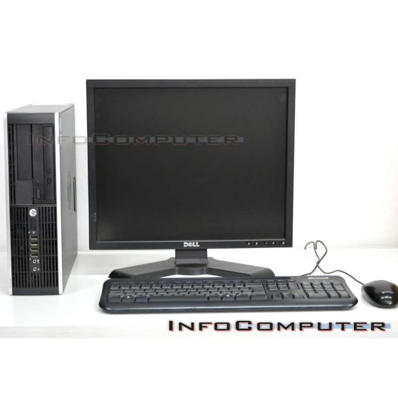 "Computador HP 8200 SFF, Intel Core i5 2400 3.1GHz, 4GB , 500 HDD + TFT 19"""