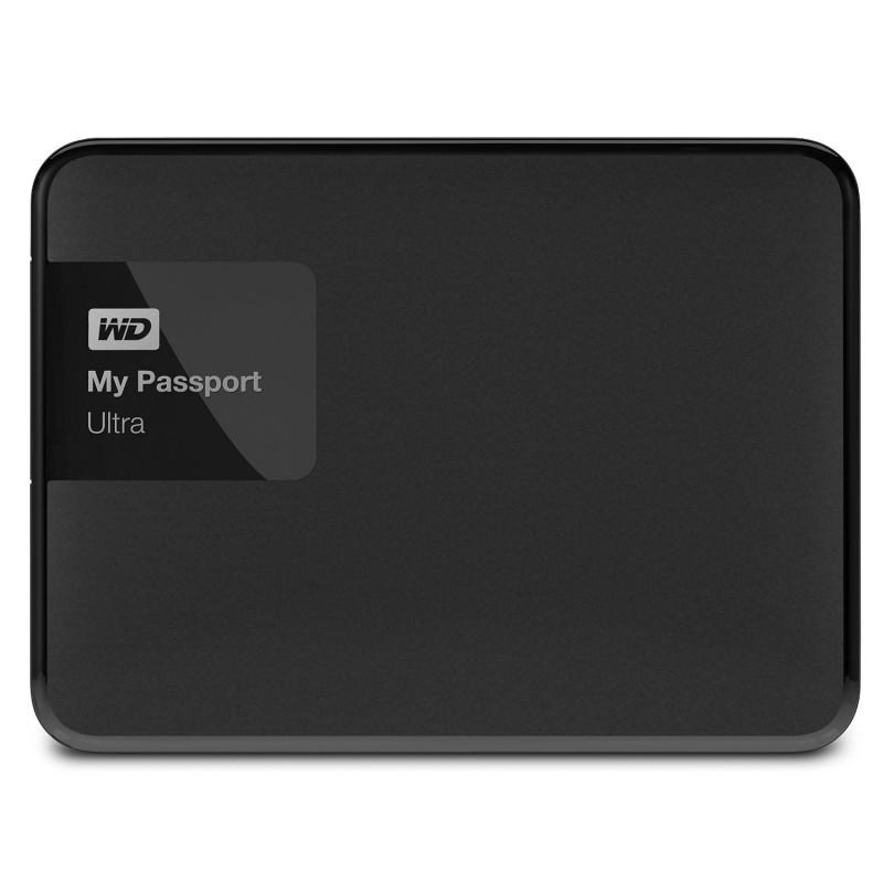 Disco rigido WD EXTERNO 2.5'' 1TB USB3.0 MY PASSPORT ULTRA PRETO