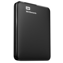 Disco rigido WD EXTERNO 2.5'' 1TB USB3.0 ELEMENTS PRETO