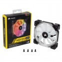 Ventilador Caixa CORSAIR HD120 SERIES LED RGB PWM 120MM