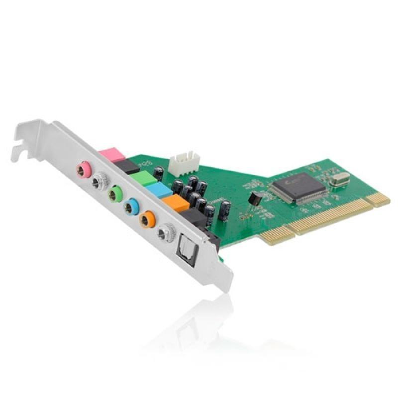 Placa de Som Ewent PCI 7.1 com SPDIF