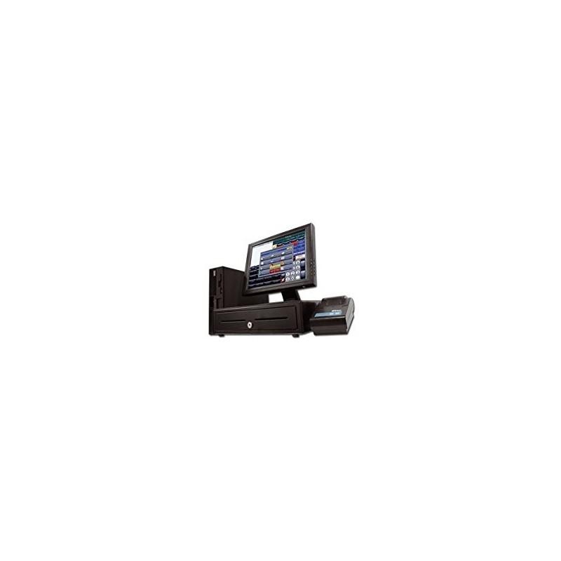 """Comprar Terminal POS (Monitor TFT 20"""" + IMPRESSORA + GAVETA + LEITOR CÓDIGO BARRAS )"""