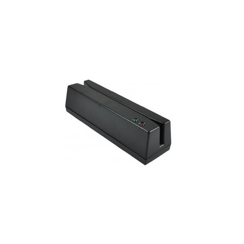 Leitor de Banda Magnética MMSR-380-33-UB 3 Pistas USB Preto
