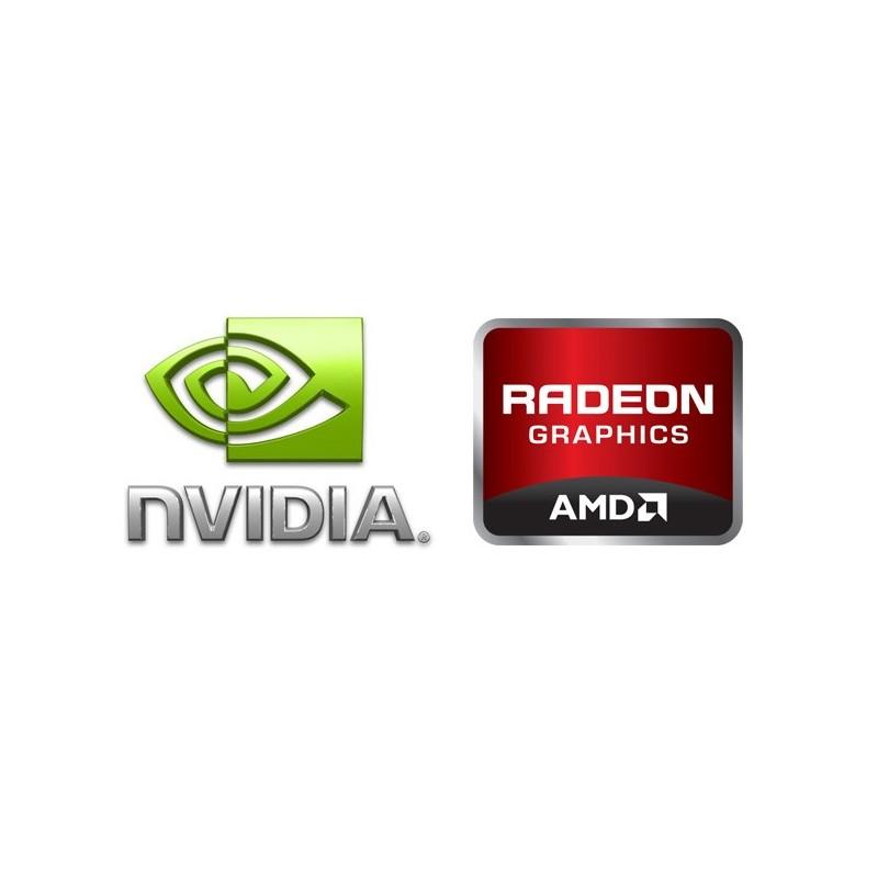 Placa Gráfica NOVA Entrada de Gama AMD & NVIDIA 1Gb dedicada