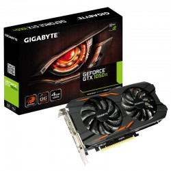 Placa Gráfica Gigabyte GeForce GTX 1050 Ti Windforce OC 4G