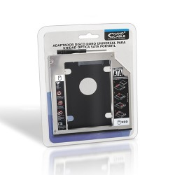 NANOCABLE Adaptador HDD 9.5MM PARA DRIVE OPTICA PORTATIL 12.7MM