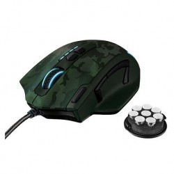 Rato GXT 155C GAMING MOUSE - GREEN CAMOUFLAGE