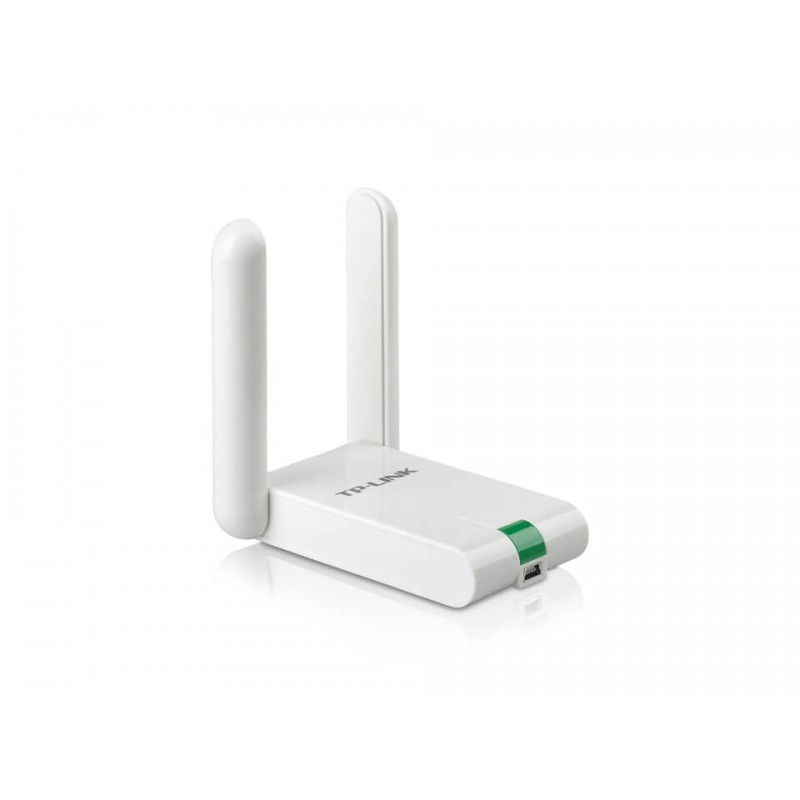 Placa de Rede TP-Link Wireless N 300Mbps USB 2 ANTENAS