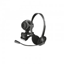 Trust Exis Chatpack - Webcam + Auriculares - Preto