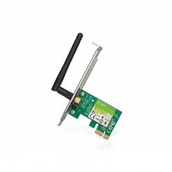Placa Rede TP-Link Wireless N 150Mbps PCI-e 1 Antena Atheros
