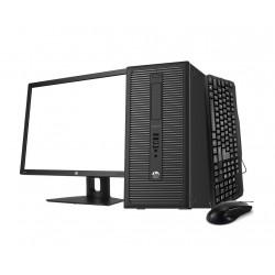 HP 800 G1 i5 4570 3.2GHz | 8 GB Ram | 500 HDD | Lcd 20