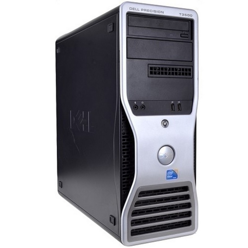 DELL T3500 XEON W3565 3.2GHz | 12 GB Ram | 4x 250 HDD | DVD | P. GRAFICA 2GB