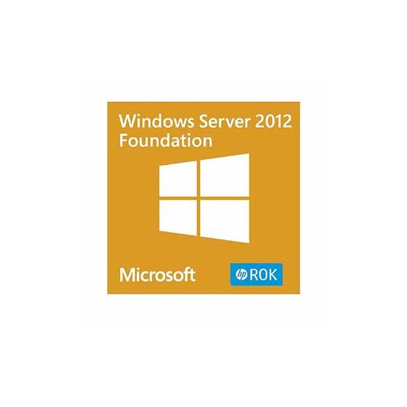 Comprar HP Windows Server 2012 R2 Foundation ROK