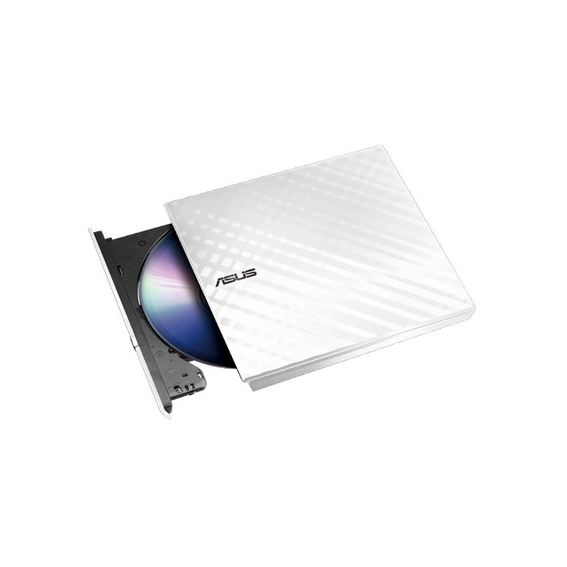 Leitor Gravador Externa Asus SDRW-08D2S-U Slim Lite Branca