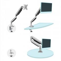 "Suporte de mesa (monitor/plasma/LCD/LED) 13""- 32"" Prateado - DB3032TNR-S barato"
