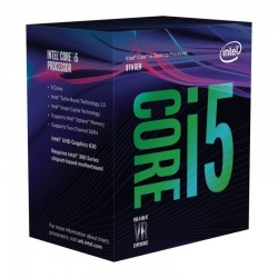 Processador Intel Core i5-8400 Hexa-Core 2.8GHz c/ Turbo 4.0GHz 9MB Skt1151
