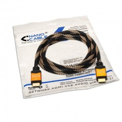 CABO HDMI V1.4 (HI SPEED / HEC) A/M-A/M OURO 1.8 M barato