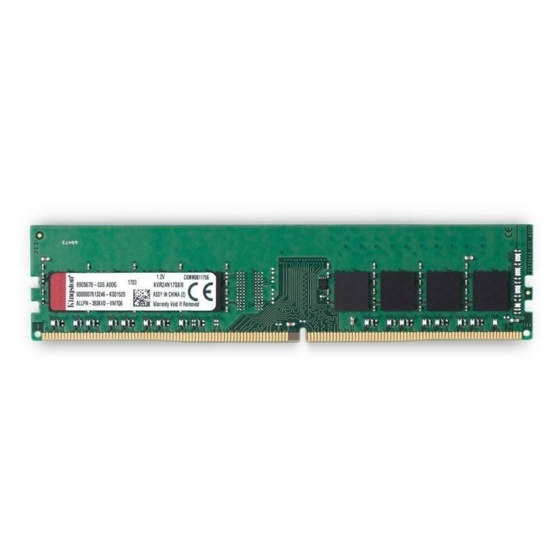 Comprar MEMORIA KINGSTON | DIMM DDR4 | 8GB | 2400MHZ | CL17