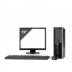 HP 8200 i7 2600 3.4GHz | 4 GB Ram | 250 HDD | DVD | Lcd 19""