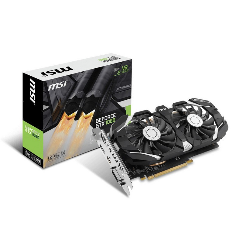Placa Gráfica MSI GeForce GTX 1060 6GT OCV1