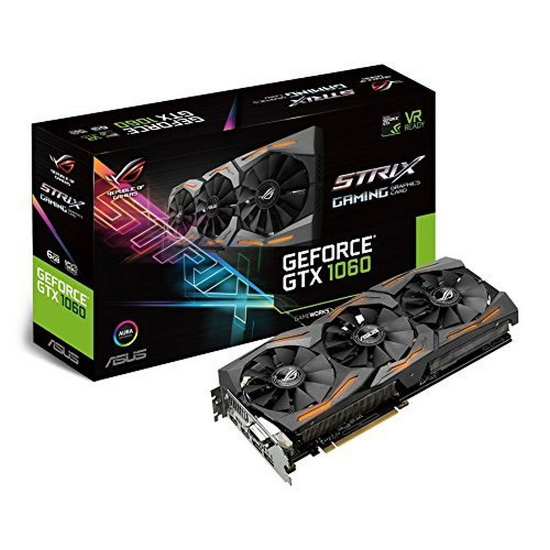 Placa Gráfica ASUS ROG Strix GeForce GTX 1060 6GB