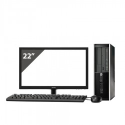 HP 6200 i5 2400 3.1GHz | 4 GB Ram | 250 HDD | LEITOR | LCD 22""