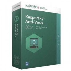 Kaspersky Antivirus 2017 - 1 Utilizador