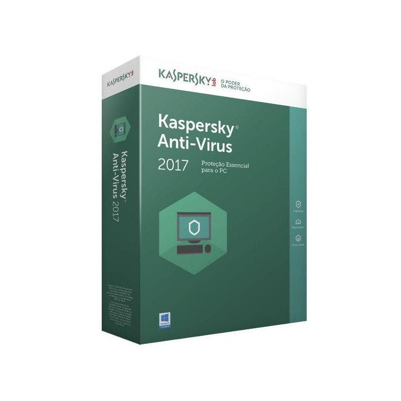 Comprar Kaspersky Antivirus 2017 - 1 Utilizador