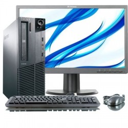 LOTE 10 UDS. Lenovo M82 SFF PENTIUM G2020 2.9GHz | 4 GB Ram | 250 HDD|LCD 20""