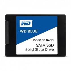 "Disco SSD Western Digital 2.5"" 250GB BLUE 3D SATA III"