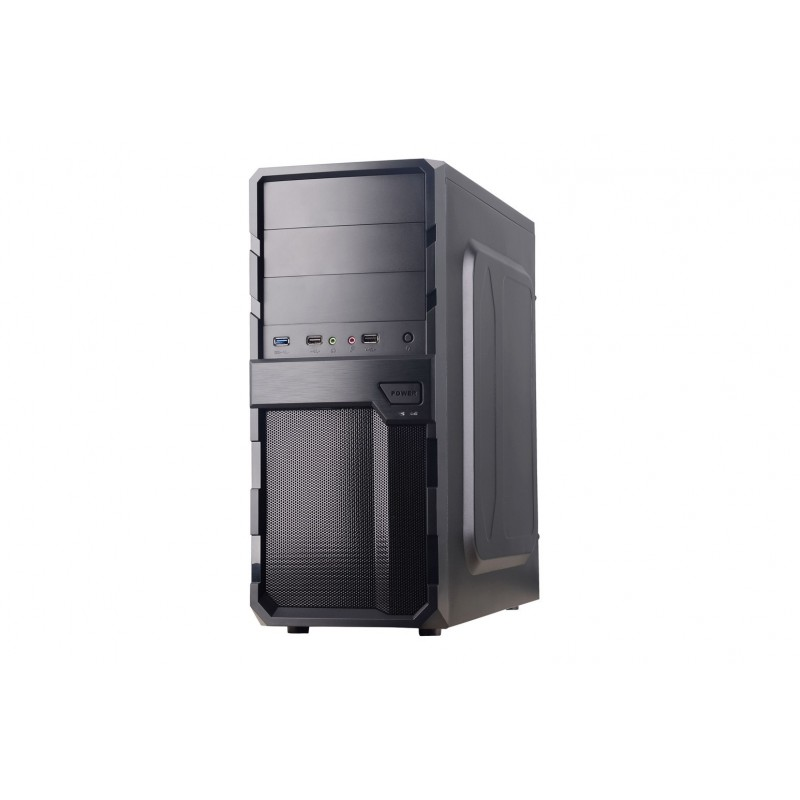 CAIXA SEMITORRA / ATX COOLBOX F200 S / FONTE USB3.0 PRETO