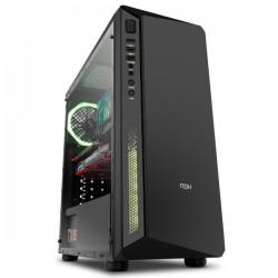 Nox Infinity Atom RGB Vidro Temperado - Caixa / Torre