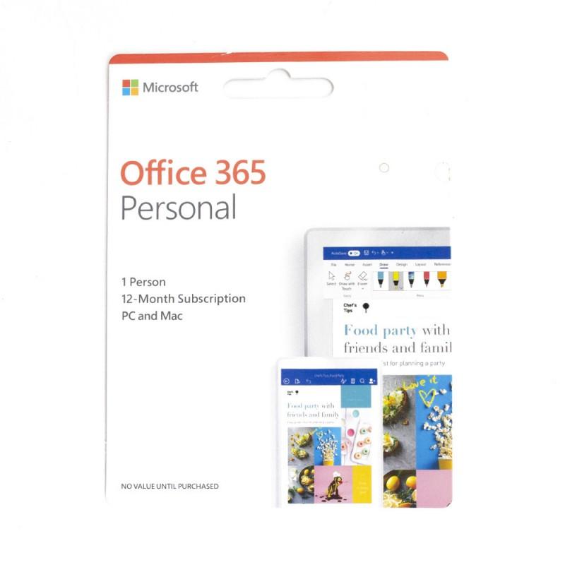 Comprar MICROSOFT OFFICE 365 PESSOAL 2019
