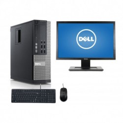 Lote 10 Uds.DELL 790 SFF i5 2500 3.3 GHz | 4 GB | 250 HDD | LEITOR |LCD 20