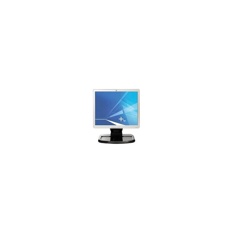 "Monitor HP 1740 | VGA, DVI-D | LCD 19"" | COM DEFEITO"