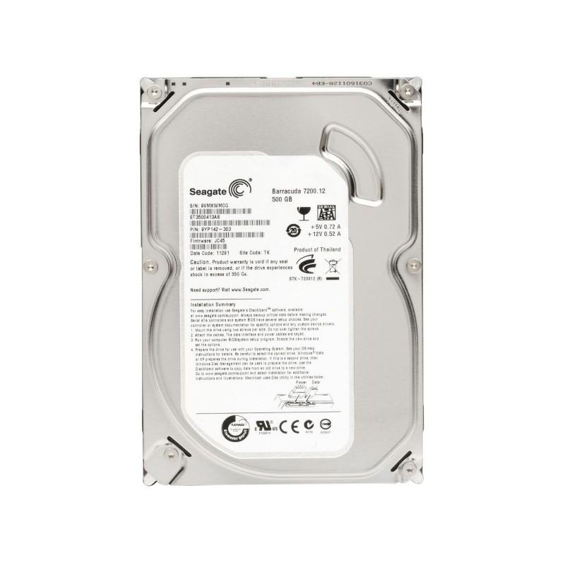 """Comprar Disco Rigido 3.5"""" 500Gb 7200RPM SATA ( USADO )"""