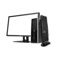 "HP 8300 SFF i5 3470 3.2GHz | 8 GB | 500 HDD | GEFORCE GT 710 | WIN 10 PRO | LCD 20"" + TECLADO E RATO"