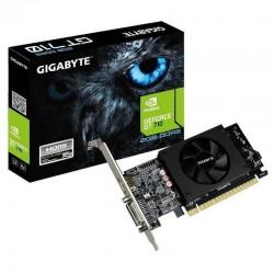 Placa GRÁFICA GIGABYTE GEFORCE GT 710 954 MHZ 2GB GDDR5 64 BIT PCIEX 8X 2.0 HDMI DVI I