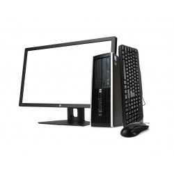 "HP 8200 SFF i5 2400 3.1GHz | 8 GB | 240 SSD | WIN 10 PRO | MONITOR 20"""