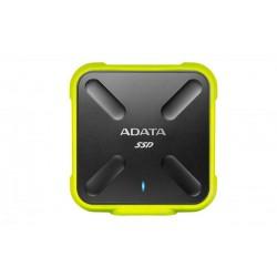 ADATA SD700 512 GB Negro, Amarillo