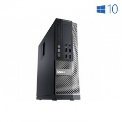 DELL 7010 SFF i5 3470 | 8 GB Ram | 120SSD + 500 HDD | LEITOR | WIN 10 PRO