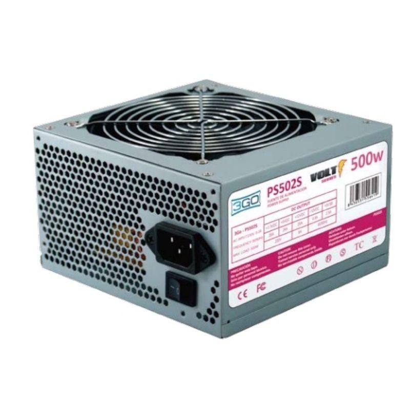 Comprar FONTE ALIMENTASAO ATX 3GO PS502S   500W   VENTILADOR 12CM