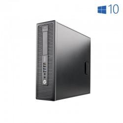 HP 800 G1 SFF i7 4770 3.4GHz | 8 GB | 240 SSD | LEITOR