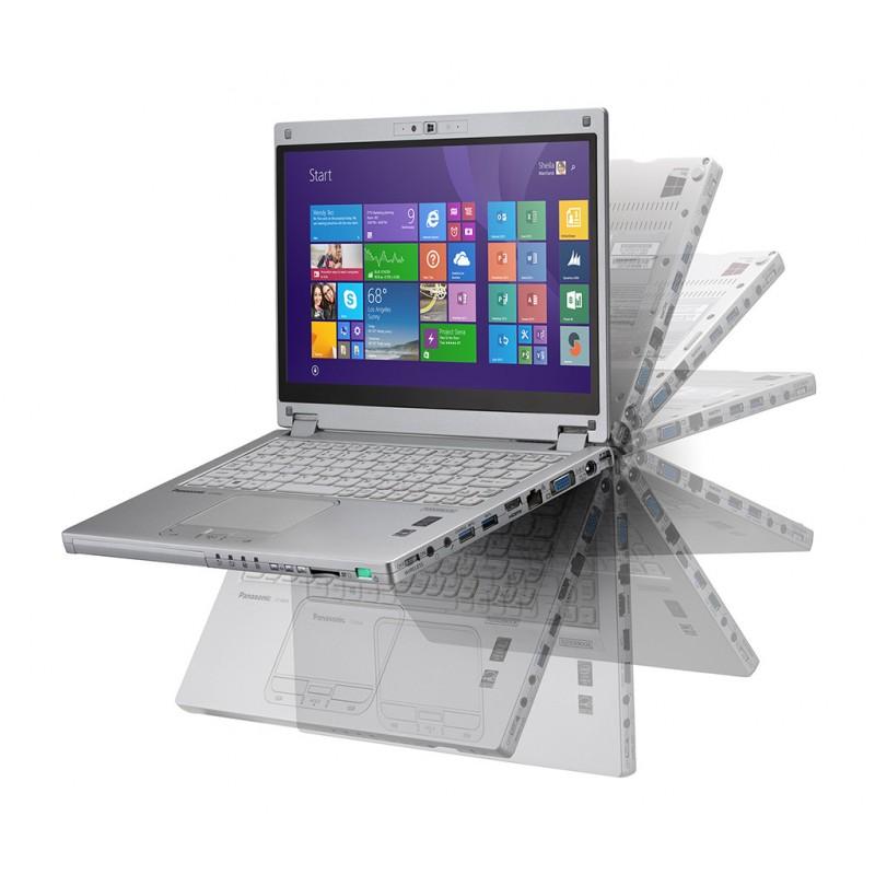 PANASONIC CF-MX4 i5 5300U | 4 GB | 128 SSD | SEM LEITOR | WEBCAM | TACTIL REVERSIBLE | WIN 8 PRO