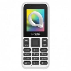 TELɐFONO MÓVIL ALCATEL 10.66D WARM WHITE   PANTALLA 1.8' QQVGA   2G   4MB RAM   4MB ROM   MICROSD   CAM 0.8MPX   DUAL SIM