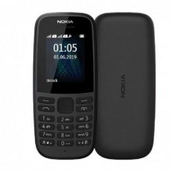 TELɐFONO MÓVIL NOKIA 105 4TH EDITION NEGRO   PANTALLA 1.8' QVGA   4MB RAM   4MB ROM   DUAL SIM   BAT.800MAH