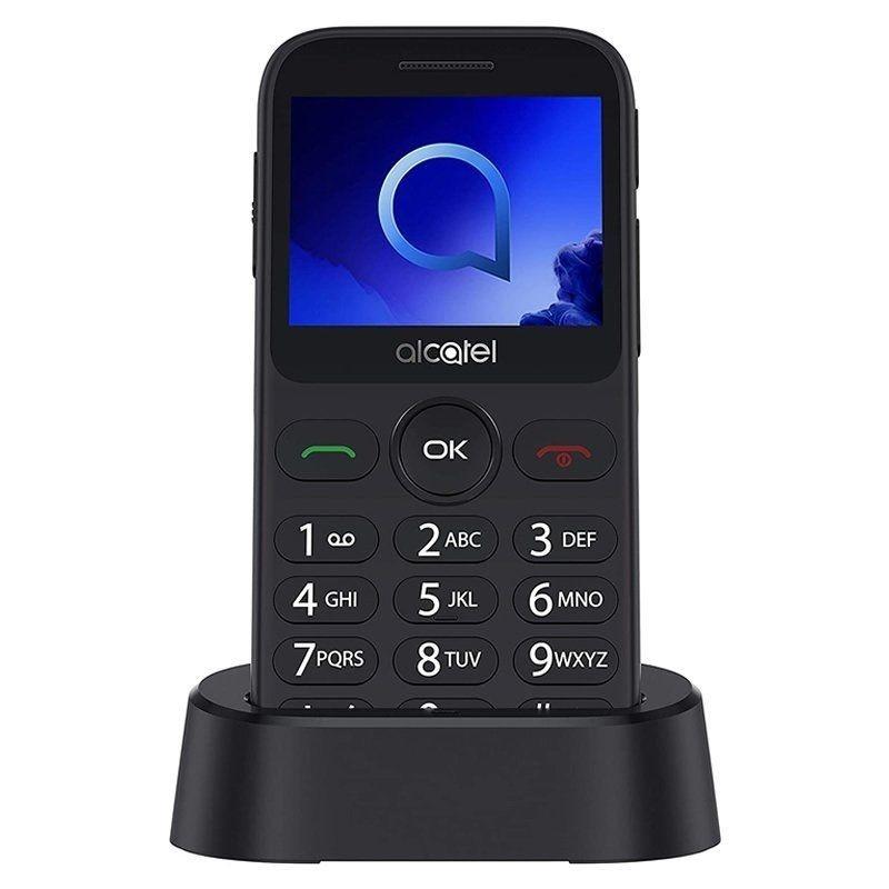 Comprar Teléfono móvil ALCATEL 20.19G METALIC SILVER   2.4' QVGA   16MB ROM   8MB RAM   MICROSD   BT   BOT…N SOS   FM   LINTERNA