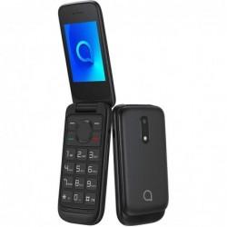 Teléfono móvil ALCATEL 2053D NEGRO   PANTALLA 2.4' QVGA   4MB RAM   4MB ROM   MICROSD   BT 2.1   CAM 1.3MP    DUAL SIM