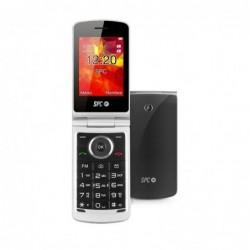 Teléfono móvil SENIOR SPC OPAL NEGRO   PANTALLA 7.1CM   TECLAS GRANDES   AGENDA 500 NOMBRES   DUAL SIM   FM   BT   MICROSD